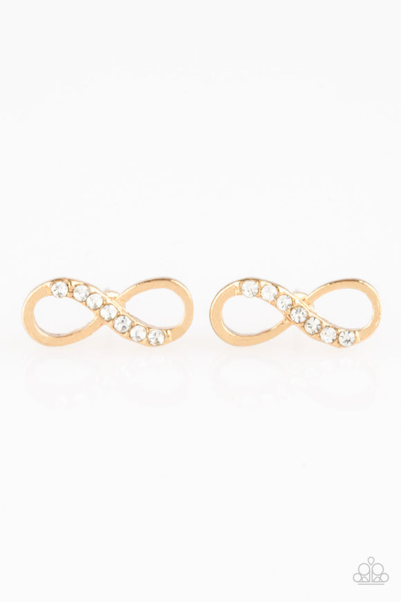 Never-Ending Elegance - Gold - Post Earrings