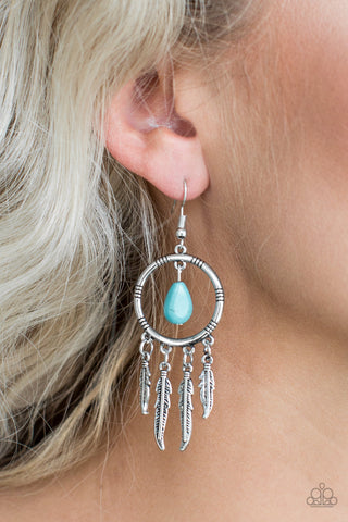 Southern Plains - Blue - Earrings