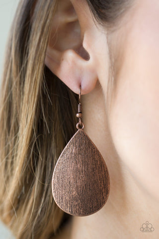 All Allure - Copper - Earrings