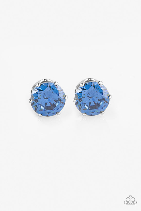 Come Out On Top - Blue - Post Earrings