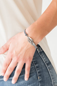 Faster Than FLIGHT - Silver - Clasp Bracelet