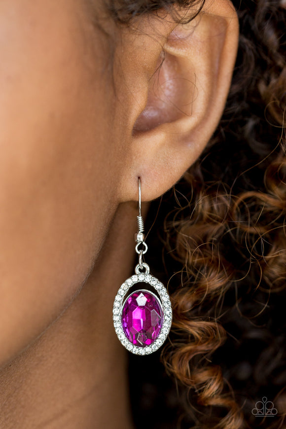 Imperial SHINE-ness - Pink - Earrings