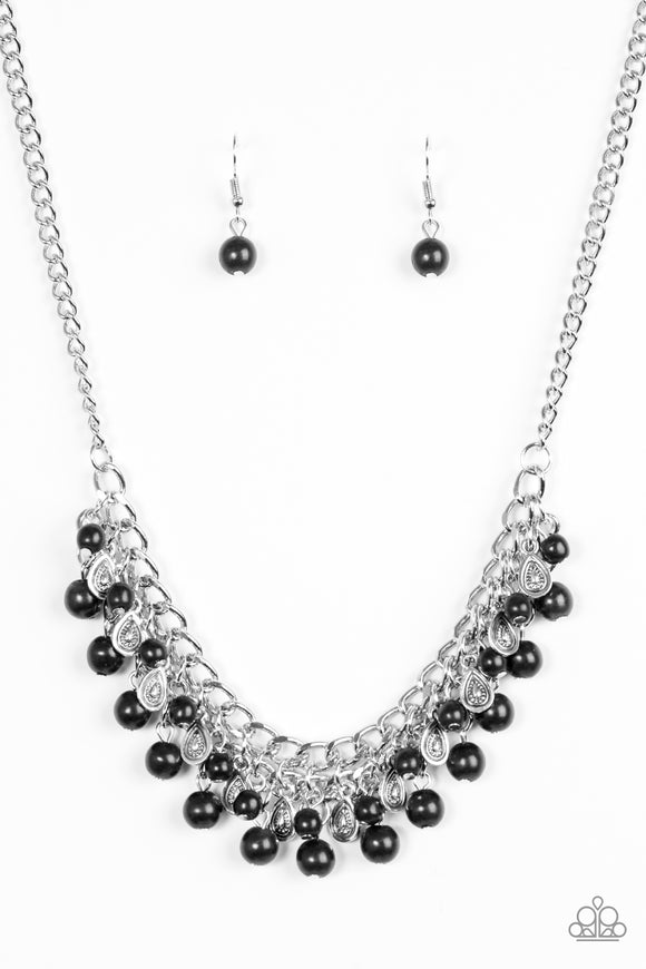 Poshly Paleo - Short Necklace - Black