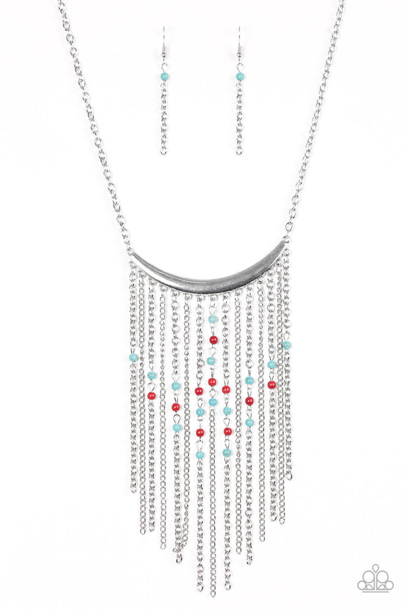 Runaway Rumba - Fringe - Medium Necklace