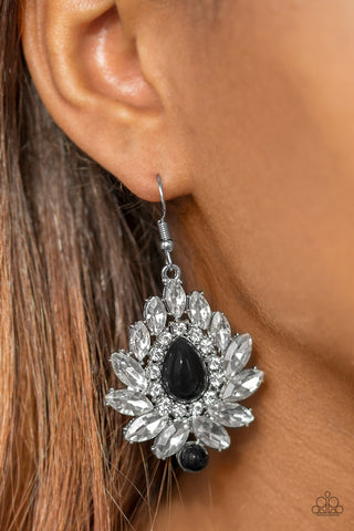 Trophy Trove - Black - Earrings