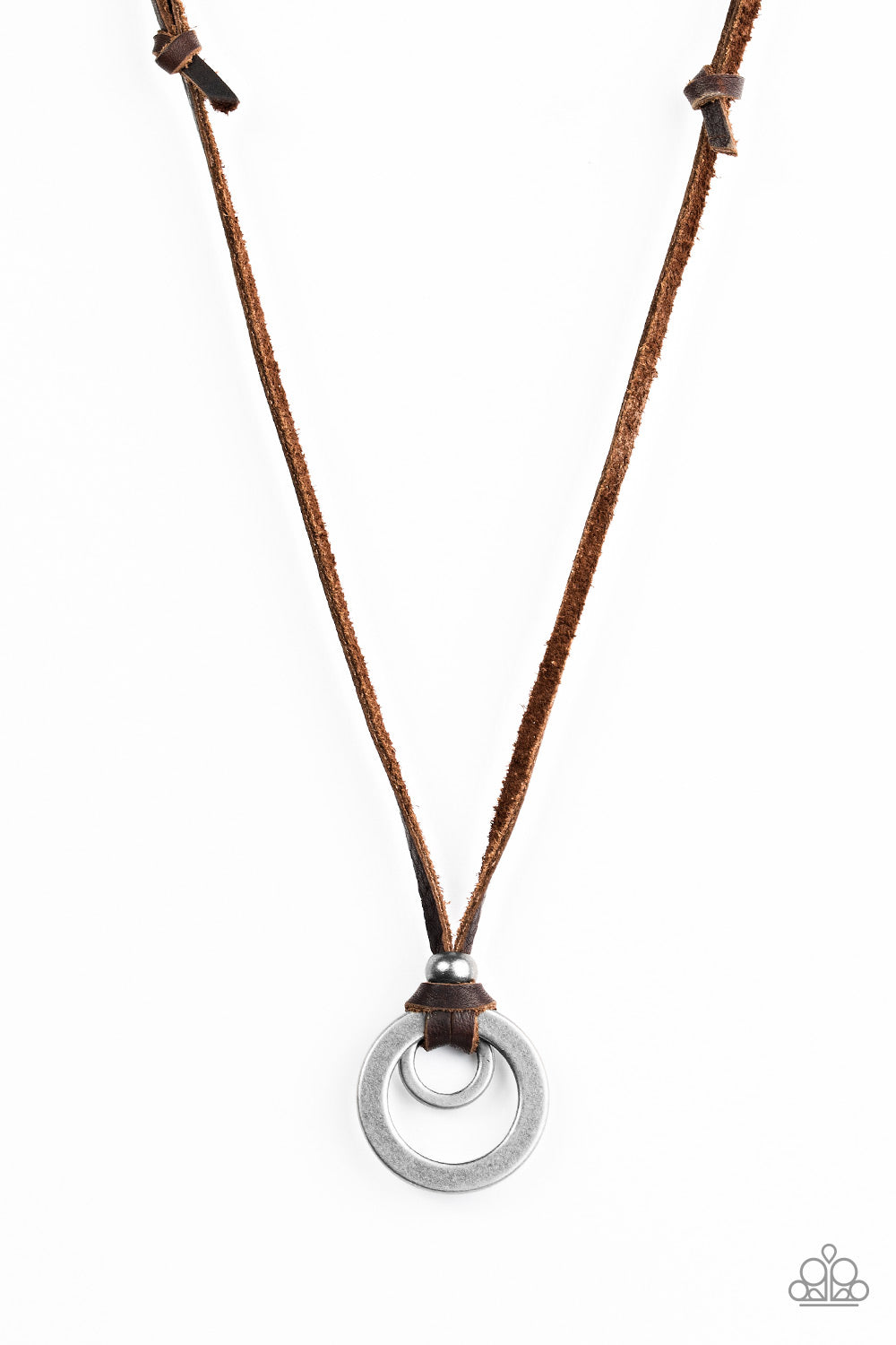 Get To High Ground - Brown - Leather Necklace - Uniquely Urban