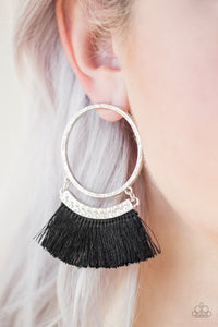 This Is Sparta! - Black - Post Earrings