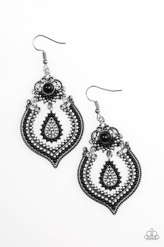 Congo Cadence - Black - Earrings