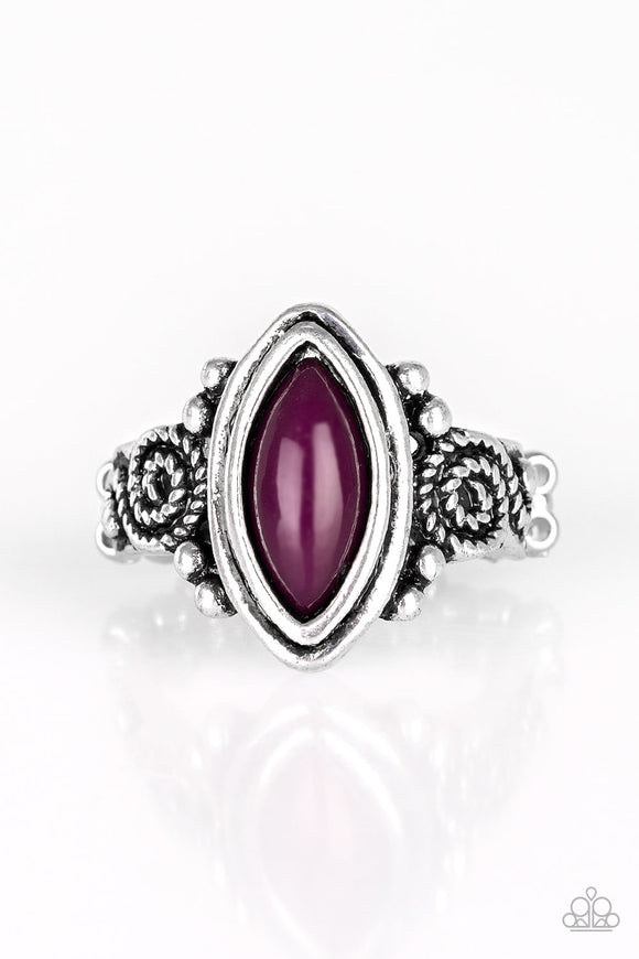 ZOO Hot To Handle - Purple - Stretch Ring