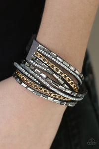 Cheaters Never Prosper - Gray - Wrap Bracelet