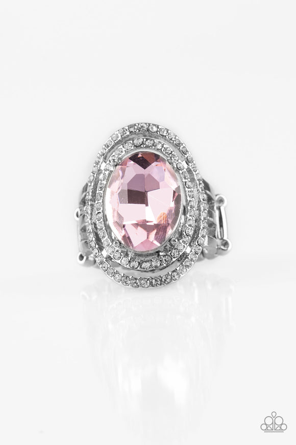 Making History - Pink - Stretch Ring