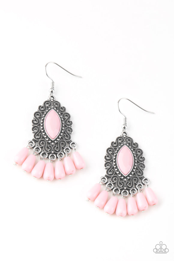 Private Villa - Pink - Earrings