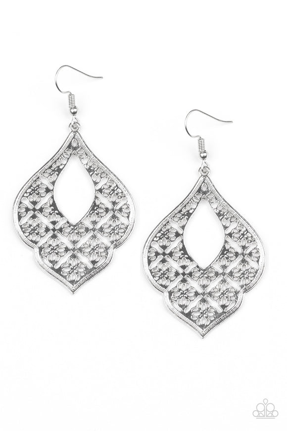 Totally Taj Mahal - Silver - Earrings