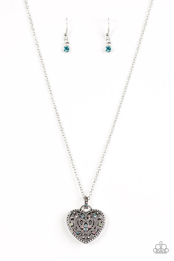 Charmingly Casanova - Multicolor - Long Necklace