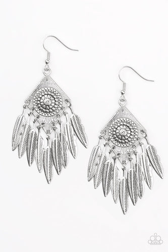 Western Rattler - Silver - Earrings