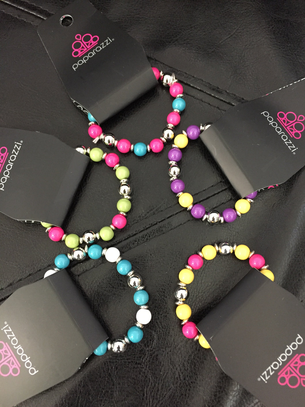 Starlet Shimmer - Colorful Gumball Beads - Multi Color - 5 for $5