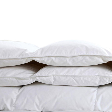 Lightweight White Goose Down Comforter