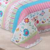 MarCielo Bed Sheets for Kids Twin Sheets for Kids Girls Boys Teens Children Sheets  A73