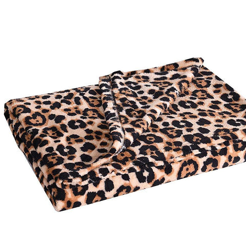 Fleece Throw Blanket, 50 x 60 Inch Lap Fleece Blankets