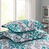 MarCielo 3 Piece Quilted Bedspread, Printed Quilt, Quilt Set Bedding Throw Blanket Coverlet Lightweight Bedspread A17 quilt
