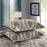 MarCielo 3 Piece Quilted Bedspread, Printed Quilt, Quilt Set Bedding Throw Blanket Coverlet Lightweight Bedspread A16 quilt