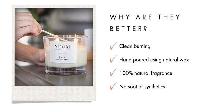 Why are natural candles better?