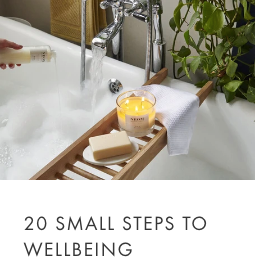 20 small steps to wellbeing