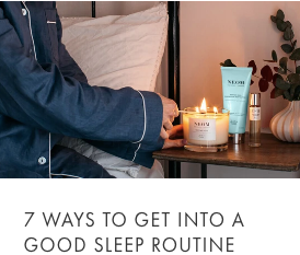 seven ways to get into a good sleep routine