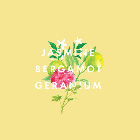 Jasmine, Bergamot & Geranium Essential Oil Blend 10ml