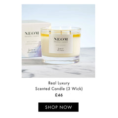 Real Luxury 3 Wick Candle