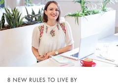 8 new rules to live by