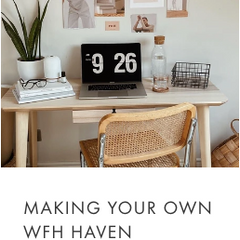 Making your wfh haven