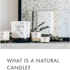 What is a natural candle?