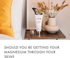 should you be getting magnesium through your skin