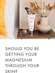 Getting magnesium through your skin