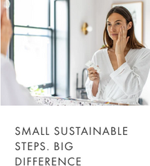 small sustainable steps. big difference