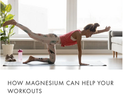 how magnesium can help your workouts