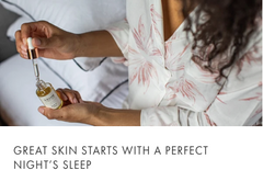 skin for a perfect night's sleep