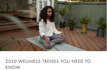 2020 wellness trends