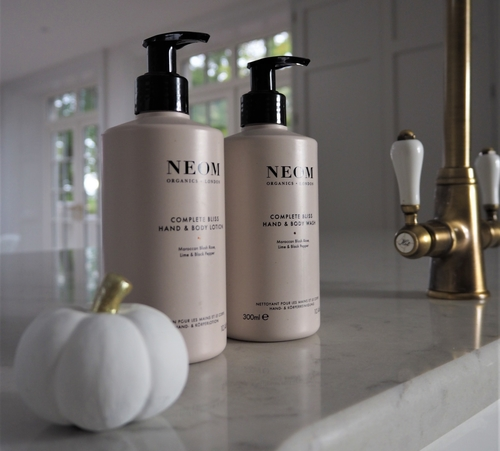 wash & lotion with pumpkin
