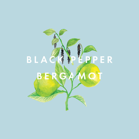 Black Pepper & Bergamot Essential Oil Blend 10ml