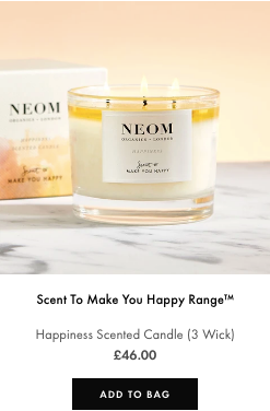 happiness candle