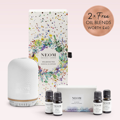 Christmas Wellbeing Pod Essential Oil Diffuser & Essential Oil Blends Collection