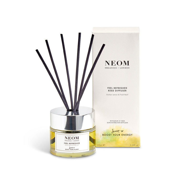feel refreshed reed diffuser with box