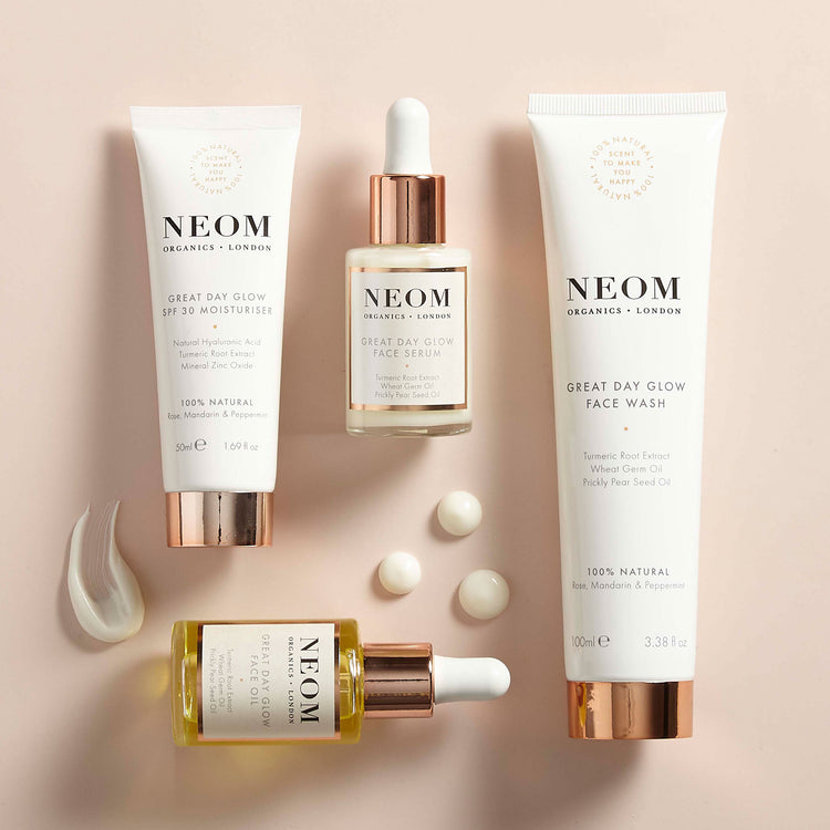 Natural Face Oil Great Day Glow Face Oil Neom Organics