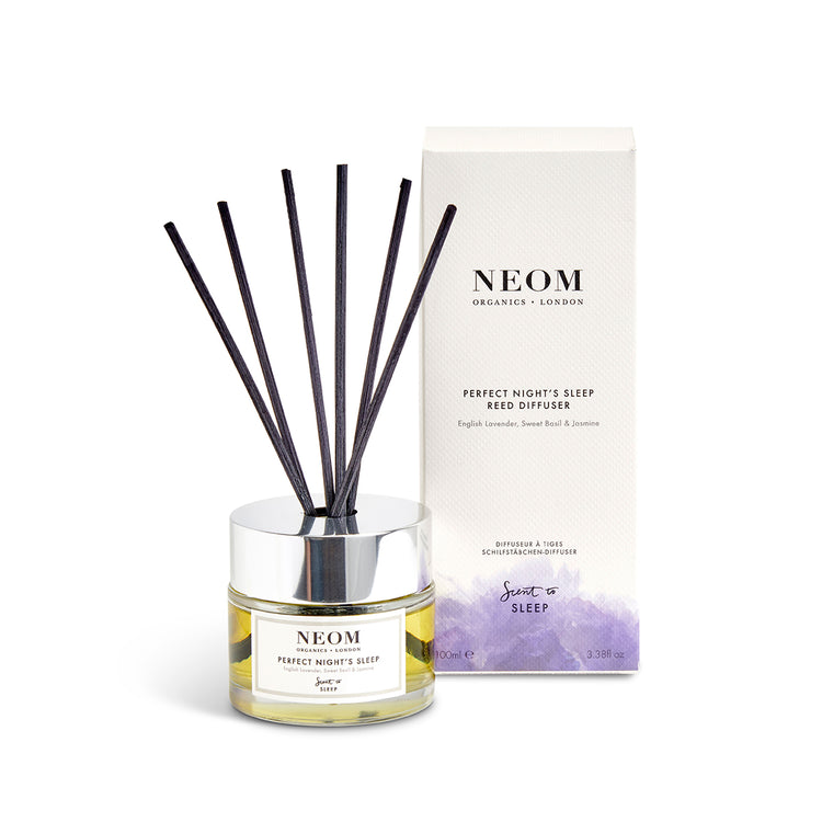 perfect night's sleep reed diffuser