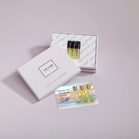 Natural Wellbeing Fragrance Sample Collection