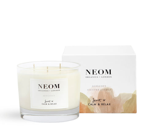 Sensuous Scented Candle (3 Wick)