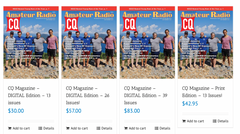 Subscribe to Ham Radio's CQ Magazine for real dx stories