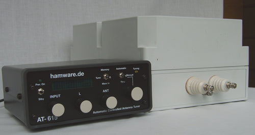 antenna tuner, at-615b, hamware, greyline performance, ham radio, vertical antenna, 160-10m